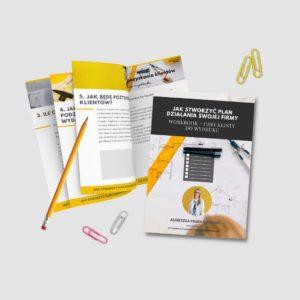 Jak stworzyć plan działania swojej firmy checklista workbook e-book