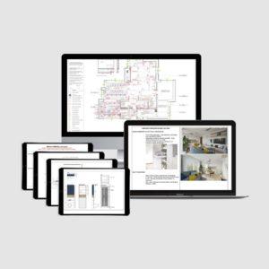 Wzór dokumentacji technicznej architekt wnętrz szablon przykład