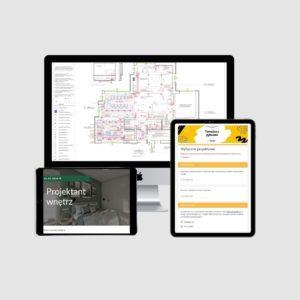 Szablon oferty, formularz z pytaniami do klienta, e-book, architekt wnętrz