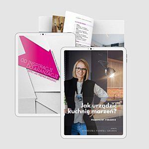 pakiet startowy projektowanie wnętrz książka od inspiracji do aranżacji jak urządzić kuchnię marzeń